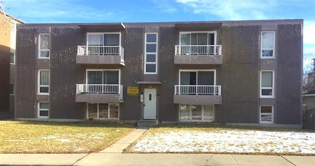 EXCELLENT concrete construction apartment in Bankview. 11 Suites with Good suite mix.  7 - 1BR, 4 - 2BR.  All above grade units have balconies. Utilities are included in the tenants rents.  Please see the property pro forma in the supplements.