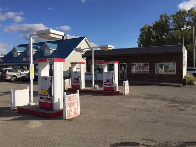 Stable, very easy to run gas station with a lot of potential to grow. This property with business is branded gas station which is located in the center of Sundre, close to all amenities and tourist attraction area. Above ground tank with 3 partitions 50,000L in an excellent condition. This is very well organized store.