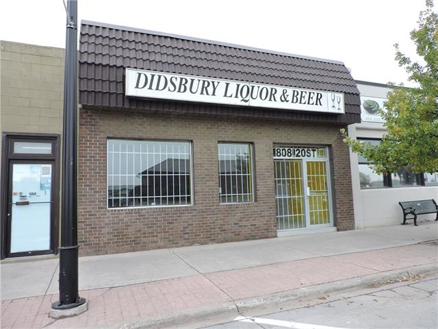 RETAIL COMMERCIAL BUILDING IN DOWNTOWN DIDSBURY! This building has over 1800 sf and is in a great location for your new or existing business. The rate is very competitive and this site has everything you will need to grow your business. It has storage rooms, lunch room with sink, 1 bathroom (with rough in for a second) and also an old vault (since it was the site of the credit union years ago). Call me today to check out this space!!