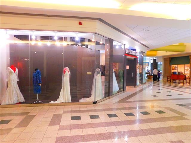 THIS IS AMAZING OPPORTUNITY TO START  YOUR BUSINESS IN A VERY BUSY MALL WITH A GREAT LEASE AT $2500.00 PER MONTH ALL IN , BRIDAL STORE BEEN IN BUSINESS FOR  LAST 20 YEARS , THE OWNER HAD  GREAT PLEASURE TO SERVE HER CLIENTS  AT THIS LOCATION  , OWNER WILL TRAIN, THE PURCHASER, WEDDING GOWNS AND DRESSES ARE MADE IN EUROPE . ALL EQUIPMENT RACKS AND STAND ARE INCLUDED IN THE SALE . INVENTORY IS NOT INCLUDED.