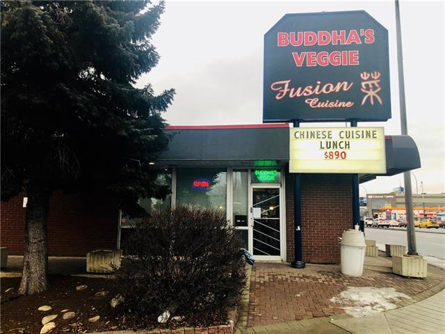 Fully equipped Asian Veggie Style restaurant business located on one of Calgary's busiest commercial street, Macleod Trail. Close to Chinook Mall, LRT. The rent is very competitive. Good for all types of food and entertaining business. Don't miss this great opportunity to be your own boss. Financials provided with confidentiality agreement.