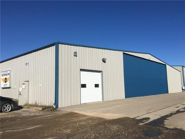 This Hangar is in a prime location for a combination use where visibility is an asset. Located on the current southwestern corner of the Olds-Didsbury airport?s developed hangars and access roads. Its front office entrance access faces south vehicle parking area, with ideal exposure to TWP Road 320 which is the main paved access from Highway 2A - 36N miles north of Calgary or 45 minutes by car.  The Olds/Didsbury Airport has a paved runway. 10/28, 3664 feet by 75 feet and a turf runway. 04/22, the Hangar was previously used as a flying school, it features three distinct sections. The first section provides a mix of open classroom with coffee counter and overhead door (10?x10?) with stairwell to mezzanine storage/utility area. An operations office with west facing window and man door, has washroom facilities and double kitchen style steel sinks as well as storage area adjacent. New LED lighting has been a recent addition to classroom and shop area. See Additional Remarks.