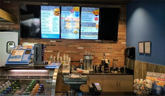 LOCATION LOCATION!! This burger franchise is located in crowfoot center. Very good location and visibility. Walking distance to transit and schools. Strong sales and reasonable rent. Please dont go directly. Call your agent to book the showing.