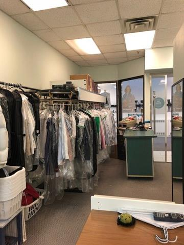 Dry cleaning business for sale in downtown 15 plus path location. Lots of regular and loyal customers come into the store every day. The business has been at this location for five years. Monthly gross rent is $1,936 including op cost and G.S.T. It is easy to operate and training will be provided. For more information, please contact listing agent.