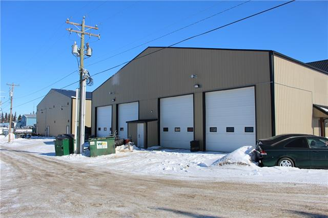 4000 sqft feet of space, 4-over head doors 14 feet in height, small mezzanine level, 2- 2 pc washrooms, kitchenette, office, the space is vacant and ready to move in! There will be 4 office spaces above this space, 728sqft each available as well if needed. The shop has 220v, lots of electrical outlets, floor drain and clean out, radiant over head heating, water taps etc! This space is located along highway 2A for great business exposure!
