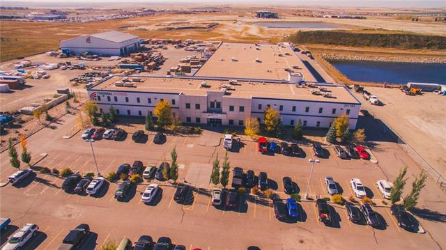 INVESTMENT SALE! Head Office and Industrial Complex on two lots totalling 9.81 acres. Fully Leased until October 2025 with renewal options. Constructed in 2008 of highest quality construction with 44,801 sf of office - upgraded in 2016 and 50,289 sf of 24 ft. clear to ceiling warehouse in two separate buildings. Building wired for heavy power up to 2000 amps available.160 paved parking stalls and over 6 acres of compacted gravel storage yard.Perimeter chain link fencing with Cardlock controlled access. Computer controlled HVAC to maximize comfort for more than 120 employees.This is a great hands off investment with future potential to expand the second Pre-Eng building to maximize your rate of return. Quick possession available to qualified investor.
