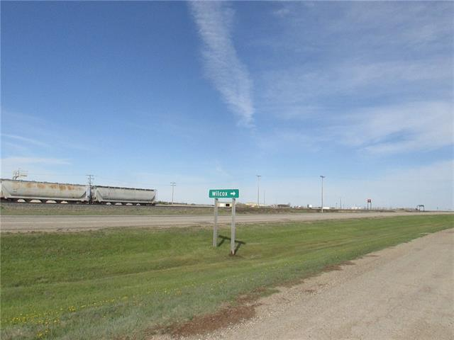 Village of Wilcox, Sask. - Parcel M consists of 15.69 Acres just re-zoned to M-Industrial District.  Currently farmland with services running parallel to the lot frontage.  Adjacent to Highway 39 and CPR Siding. Location - 35 Miles to Moose jaw and 25 Miles to Regina.  Permitted Uses and Land Diagram are included in the Supplements.  Also see Parcel N (C4255571)