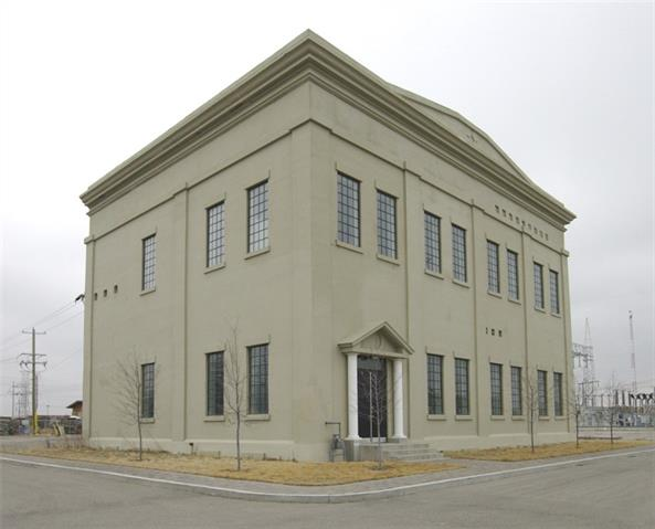 Own a piece of Calgary History.  Built in 1910 this 11,543 SF Two Story Building on 1.21 Acres of fenced yard in Highfield.  20 foot Ceilings - potential to build additional floors.  Potential to build more garages.  Lots of room for parking. Complete with Hoist, Paint booth and make up air.   Please allow 24 hours for tours.  Please do not disturb tenants.
