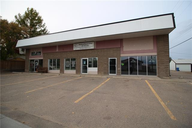 For lease ?876 sq ft building located in Crossfield.  This vacant space is part of a complex which houses a hair salon and dentist office and is conveniently located just off main street.    Owner is willing to work with right tenant.  Bring your ideas.