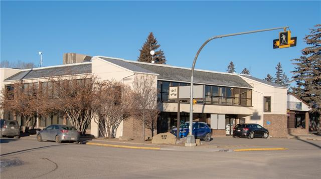 Excellent investment property in downtown High River, with a graduating lease in place from $19.00 per sq/ft to $25.00 per sq/ft triple net over five years with an option.  Recently renewed long term tenants in place, cap rate now at 7.5% with upside to year 5.  Well cared for, low maintenance, on-site parking and property management service available locally to non-resident investors.