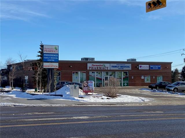 Turnkey Medical / Retail / Office space available April 1, 2020, 4,146 sq ft, High visual and signage Exposure to over 40,000 cars per day Plus Transit and pedestrian traffic. Recent medical clinic buildout, use could be continued or Suitable for Retail or Office uses.