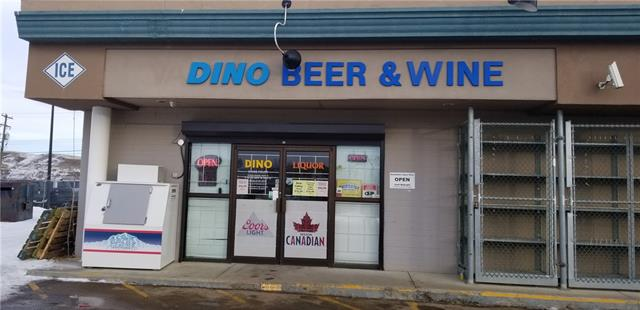 Be your own Boss. Excellent opportunity to buy a Liquor store in Drumheller. Conveniently located on Busy Highway 9 with great Explosure to high volume of traffic. Lots of Tourist in Summer time. Low cost for rent & operating.