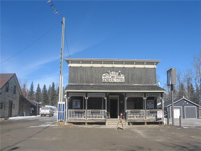 Own a piece of paradise in the scenic hamlet of Water Valley. Property consists of a one level 1973 sq ft retail building that currently operates as a general store/coffee shop/ fuel sales. The building is rented to a tenant who operates the business. The listing is for the PROPERTY ONLY .