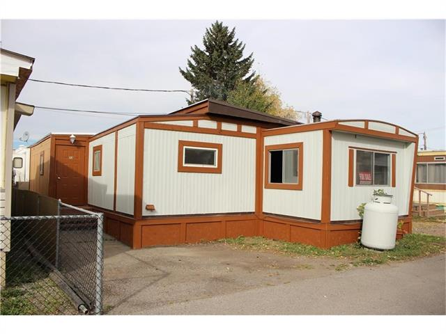 This unit is a double wide with 1,400 square feet of living space. There are 3 bedrooms and a utility room. One of the most efficient heating systems was put into this home. Park fees are $540.00 and includes water, garbage, and sewer. Located close to all amenities.