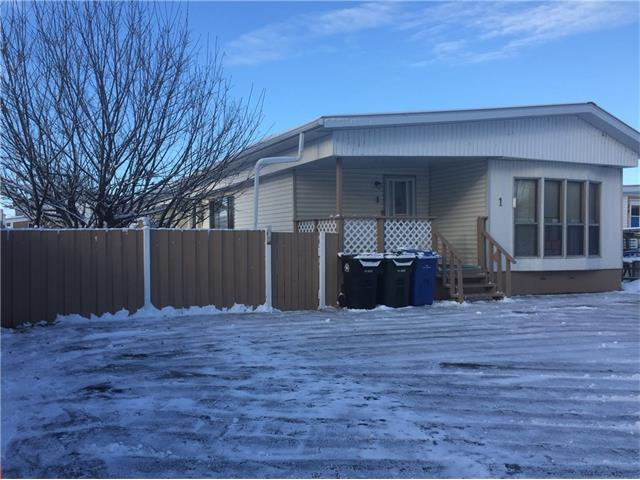 3 bedroom mobile home with addition and covered deck on a rented lot in Sundre Mobile Estates. This would be a great starter property. Very affordable. Nice fenced yard with a 12'X12' shed for the toys. Very close to all schools, pool, arena, curling, library, skate park and Snake Hill hiking trails. Definitely cheaper than rent and a great way to build your equity for you 2nd step of home ownership.