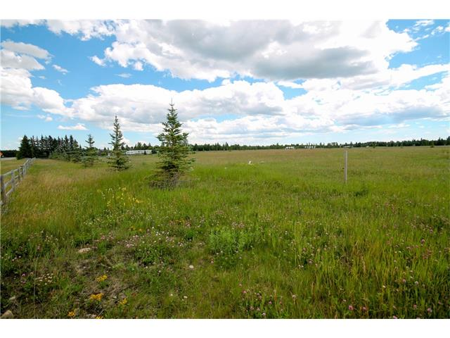 """Welcome to """"COUNTRY HAVEN ACRES"""". This lot is 4.58 acres with views to the west and just minutes to the river for fishing, boating and all your recreation needs.  The acreage has plenty of room for a horse and comes completely fenced.  Water well has been drilled and is included in the price. All utilities are available to the lot.  The property is just minutes to Sundre and all its amenities including the great schools, rec plex, and hospital.   GST is payable."""
