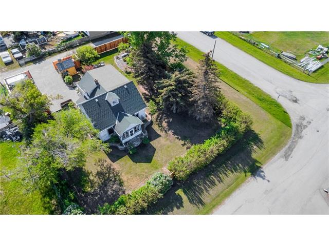 Opportunity Knocks!  Do not miss out on the chance to own this fabulous adorable 2 storey home!  The present seller has been working on getting this house move in ready shape. There are a few things left to do as is reflected in the price but you will own an amazing property! 2 bedrooms up with potential to add a master suite to the main floor. There are original features throughout the house including fixtures & flooring but you have a newer furnace, hot water tank, vinyl windows, upgraded plumbing and electrical and so much more. You can move right in and work on it at the same time!  The main floor features a big bright living room, mudroom/laundry room, eat in kitchen and dining ares!  Upstairs is the master bedroom, second bedroom, bathroom, plenty of storage, an office and an open area which could easily be used to expand the bathroom.  Outside is FANTASTIC, a piece of country paradise including plenty of parking for all your toys.   See additional remarks for more information