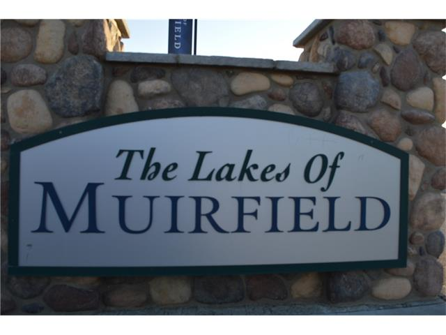 Beautiful Villa lot situated on a quiet cul-de-sac.  Enjoy the incredible views and the quiet lifestyle in this gated golf course community. Lakes of Muirfield is close to Calgary, Chestermere and Strathmore. There are several lot options available.