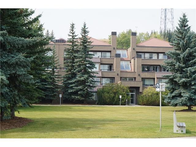 PRICE DECREASED $ 10,000 !! Here is your chance to own an amazing apartment condo in the heart of Calgary's Olympic village. This 2 bedroom unit features single floor living with all the amenities that you're looking for including heated underground parking, NEWLY RENOVATED fitness centre,, pool and jacuzzi. Tennis Courts and visitor parking for your friends. This well-kept apartment has a private east facing deck overlooking the city with an unobstructed view. The layout features separate living room and dining rooms, new Travertine Kitchen Flooring and includes a private balcony, wood burning fireplace, and master bedroom ensuite. The in-suite laundry room is convenient and the kitchen and large granite counters and Island finish off this home. Don't wait for this unit to go to someone else or you'll miss it. Call us to book an appointment today.