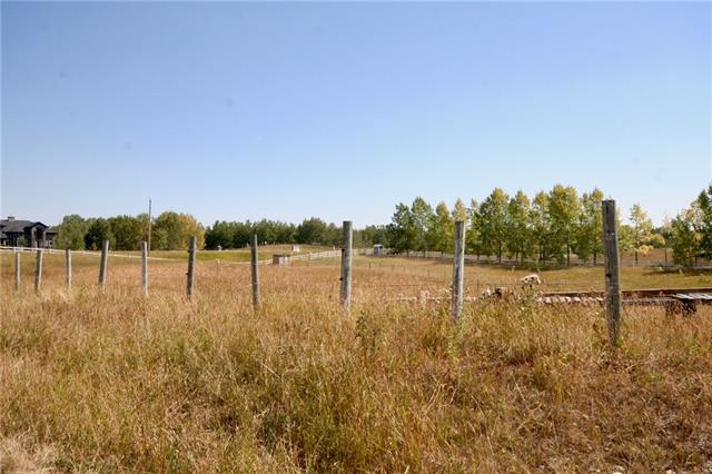 Private with gorgeous sky views, rolling 3.90 acre parcel tucked away off Poplar Hill Drive in Bearspaw, just 1.2 km east of the new Silverhorn subdivision. No Building commitment & NO RESTRICTIVE COVENANT. Perfect for a horse set up. All services to property line including water co-op (Capacty paid). Quick access to shopping, Bearspaw School, Community Centre & airport. Nearest cities are Calgary and Cochrane. Adjacent lot #4 is also for sale! With both lots you will own nearly 8 acres. Note GST is applicable. We welcome all your questions, call now and to view the lots follow these directions; Crowchild WEST to Bearspaw Road, turn NORTH, go approx 5.6 kmto Township Road 262, turn WEST, take next turn NORTH on Poplar Hill Dr. Lots on WEST side. Do not enter without permission as the neighbour has his horses on this land at times. Thank you