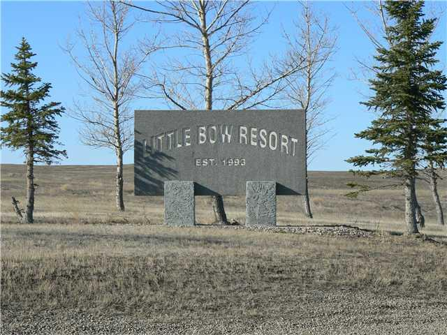 PRICED TO SELL! Check out this vacant lot at Little Bow Resort! Enjoy 4 season lake-life living in a great community setting. Enjoy Boating, fishing , swimming, and more, in one of Alberta's most sought after recreational spots. This 1/3 acre lot has all the utilities to property line. Buy it now, bring your plans, and be in your cabin by the end of summer. Less than 2 hours to Calgary , your summers will not be eaten up by long commute times. There are so many reasons for this lot to be yours. Take a drive out today to see why!