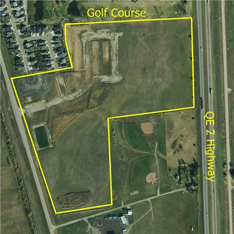 DEVELOPMENT LAND, BOWDEN, ALBERTA - Excellent visual exposure. Located adjacent to 2 major highways (QE2 (HWY 2) & 2A)), the Town of Bowden and the local golf course. Excellent opportunity. 53 acres multi-zoned for mixed residential and commercial development . Immediate development potential on paper for 408 mixed-dwelling units. Property engineering, planning and approvals are in place, Municipal servicing to the land parcel. Traffic access in place off HWY 2A and 21st Street. Contact Don for more information.