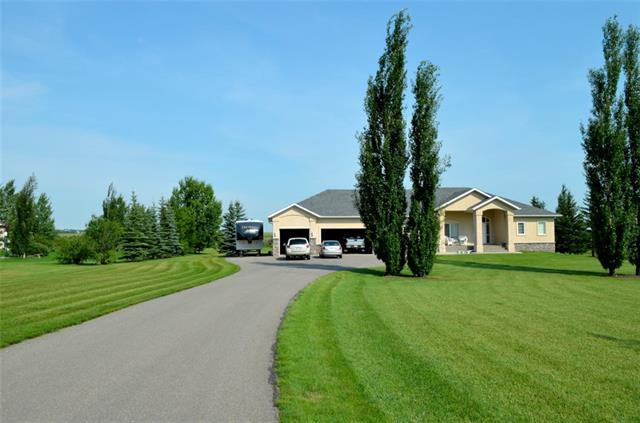 "Rarely do acreage homes come on the market that back onto the Highwood River in Silvertip Ranch. This one is a gem! Nicely tucked high above the river in a private setting with lots of mature trees and space to roam. Silvertip is an estate acreage subdivision within a few minutes of Okotoks.  They have municipal water from High River and have irrigation water for the lawns. The home was custom built by Country Rose Homes and is in immaculate condition. Pride of ownership shows! This beautiful home has double 2x4 8"" walls with R28 insulation and R50 in the ceiling combined with a HE furnace and an efficient in-floor heat system mean you have very low monthly energy costs for a home of this size. MD property taxes are about $2,000/yr less than a similarly priced home in town. Make sure you check out the 3D virtual tour.  Original Owner so we have all the original builders information. The basement has a walkup to exit out to the back lawn. Fantastic empty nester or family home! Start living the dream."