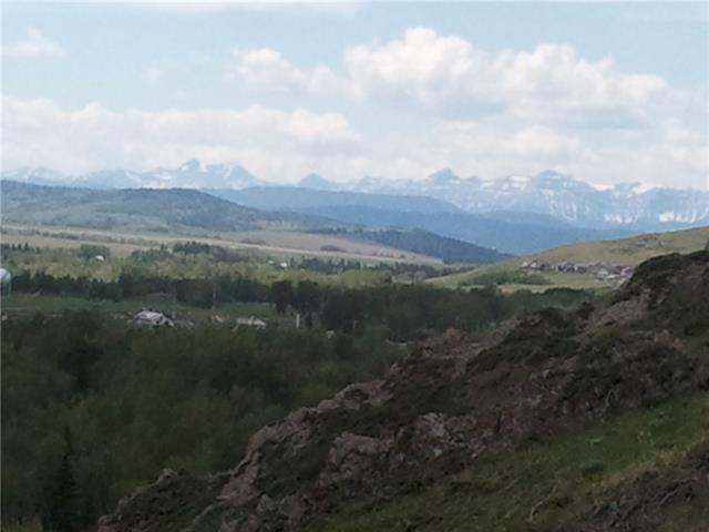 Beautiful 7.33 acres of hilltop view.  Located close to Turner Valley and Black Diamond.  Fabulous views of the Sheep River valley and the towns.  Deer and wildlife in abundance. Private location with no immediate neighbours.