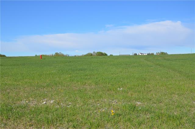 GREAT PRICE on this acreage lot located only 5 minutes from Okotoks or 15 minutes from Calgary. 2.9 acres with a Super well 8 gpm with gas and power to the property line. All paved roads lead to this subdivision. Pastoral views. A quick drive into Okotoks for all your shopping and schooling needs. Golf courses are close by. There are building restrictions on the subdivison but no building commitment. Buy now and build when the time is right.
