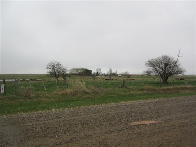 2.99 acres fenced. Property is located south of pavement 1/2 mile. Build your dream home just south of Strathmore with easy commute via, #1, Glenmore Trail and 901.