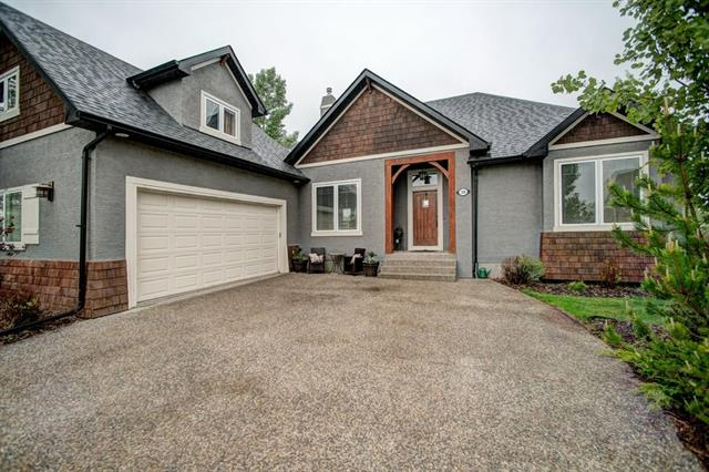 Meticulously maintained, this gorgeous family home is sure to impress. Be wowed the moment you arrive at this fully finished 5 bedroom home in Elbow Valley Estates featuring a grand entry, new shingles,eaves, downspouts and more. With just under 4000 sq. feet of developed living space there is room for your growing family. The main floor has a spacious kitchen with large island, sunny breakfast nook, corner pantry, laundry room & access to the bonus/loft room above the garage, a perfect spot to relax after a busy day. 2 sided gas fire place opens to the great room, kitchen & formal dining area, very enjoyable while entertaining. The large master suite with walk in closet and 5 pc ensuite plus two additional bedrooms complete the main level. The lower level walkout features games/rec /den + 2 more good sized bedroom and lots of storage. Extra features include central A/C, U/G sprinklers, in floor heat, over sized garage. Quick access to the mountains and downtown and just minutes to all levels of schools.