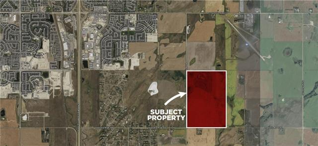 160 ACRES OR 64.7 HECTARES RAW LAND INSIDE BALZAC ANNEXATION. SOUTH EAST OF THE CITY OF AIRDRIE AND NEXT TO ARIDRIE AIRPORT. GREAT INVESTMENT LAND OR SUB-DIVISION POTENTIAL. East of Queen Elizabeth 11 Hwy - East on Township Road 270 - 1 km South on Range Road 292. South West of Airdrie Airport.