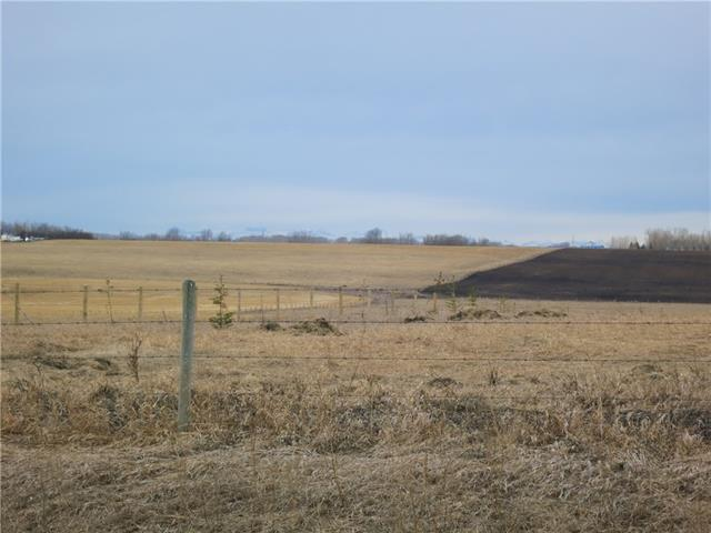 Affordable #2 Highway Facing, bare land parcel available today! Just a short drive up the service road from Highway 581. Drive only 5 minutes to Carstairs, 30 min to Calgary or 50min to Red Deer. Zoning is currently Direct Control.