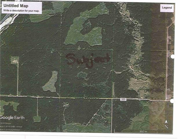 FULL UNSPOILED 160 ACRE QUARTER Section in the Beautiful Nitchie Valley West of Bergen.  Old growth forest with towering spruce and popular.  Home of all the west country big game surrounded by crown lands and just a short walk/ride to the Red Deer River or the Nitchie Creek!  If you are looking for Mother Nature at her finest, privacy and access to the back country, look no further! Call today to view!
