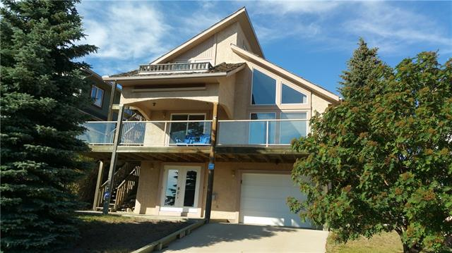 THE VIEWS ARE STUNNING. Just look out any window & you have a view of the lake. This custom designed & built home has over 1700 sq/ft of living space with three bedrooms & large open concept Kitchen-Living-Dining room area. There is a Family room with fire place in the lower walkout level, Single attached tandem garage, & large enclosed patio. There are decks off the Master bedroom & kitchen to enjoy your morning coffee looking at the lake or a dinner with family. Little Bow Resort is located on Traver's Reservoir one of the warmest spots in Alberta where cactus grows wild. This deep, beautiful & clean lake has all the requirements for a great recreational get away. In the summer enjoy, boating (Little Bow has its own marina), swimming at a sandy beach & unlike other destination Traver's is not overcrowded. Little Bow is also great as a year round recreation destination with ice fishing & skating in the winter. All Little Bow lots are fully serviced with high speed internet available. Call Today to View