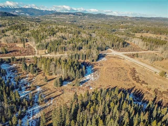 Prime opportunity to build your dream home on 17 acres in Bragg Creek & bask in the country air & magnificent surroundings. This superb property is located just minutes to Bragg Creek amenities, just a short drive to tranquil Elbow Falls & Kananaskis Country, has easy access to the Rocky Mountains & is approximately 45 minutes to downtown Calgary & 27 minutes from the west edge of Calgary. Beautifully wooded/treed land to create your country living oasis.
