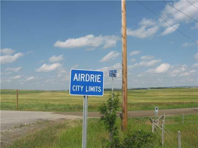 145 ACRES FOR YOUR INVESTMENT , RIGHT ON CENTRE STREET , 9 MINUTES AWAY FROM LIVINGSTONE , THIS PARCEL IS SITTING RIGHT ACROSS FROM THE AIRDRIE PROPERTY LINE , GENTLY SLOPING TOWARDS CITY VIEW OF DT CALGARY
