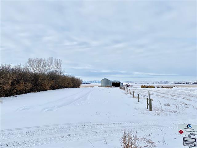 Welcome to this 5.58+/- acre parcel just east of Stavely. This property has amazing mountain views to the west. This land is already equipped with a 40x70' quonset that would be great for storing building materials while you work on your dream home. The well on this property has great production at 15gpm+/-. Come take a look today! Grain Bins are excluded.