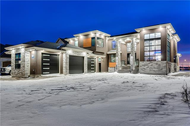 BRAND NEW ESTATE HOME BUILT in OCT 2019 by Twenty First Century Homes. As you step inside, you?re greeted with a DOUBLE DOOR entrance, a DOME CEILING, a GRAND STAIRCASE and a HUGE OPEN TO ABOVE space! CUSTOM LIGHT FIXTURES throughout this home. This home features an OVERSIZED TRIPLE car garage, 5 BEDROOMS with 5 ENSUITES, two which are MASTER BEDROOMS. Both master ensuites have IN-FLOOR HEATING. Up next is the MasterChef?s kitchen with OVERSIZED SPICE KITCHEN & LARGE PANTRY finished in maple-wood. The best quality APPLIANCES ARE INCLUDED! All 3 floors feature 9? ceiling. Equipped with Lux Windows-Triple Pane. The MAIN FLOOR has TWO living rooms (one w/ a gas fireplace), Office Room, Main Bedroom, two separate decks with FROST GLASS railing. The SECOND FLOOR features a BONUS ROOM with CUSTOM RGB LIGHTING, Wood Shelving, & an Electric Fireplace. This home has the ability for HOME AUTOMATION. Equipped with SURVEILLANCE CAMERAS, SMART HOME TECH, & MUCH MORE. This home is ALL CUSTOM. Book your showing today!