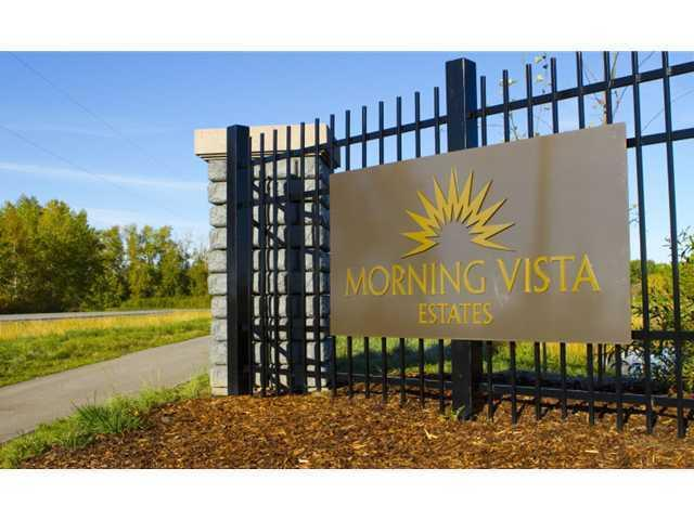 MORNING VISTA ESTATES IS A BEAUTIFUL COMMUNITY IN SPRINGBANK. It has 2 to 4 Acre Lots. Majestic Surroundings. Life Changing Experiences for Young Children. Pure Alberta Prairie Air. The Best Public & Private Schools. Large Lot Sizes.The Community's Best Builders. Quick Mountain Access. 3 Nearby Golf Courses. Higher end Shopping Experiences. Like Minded Estate Community. Healthier Living via Westside Recreation Centre
