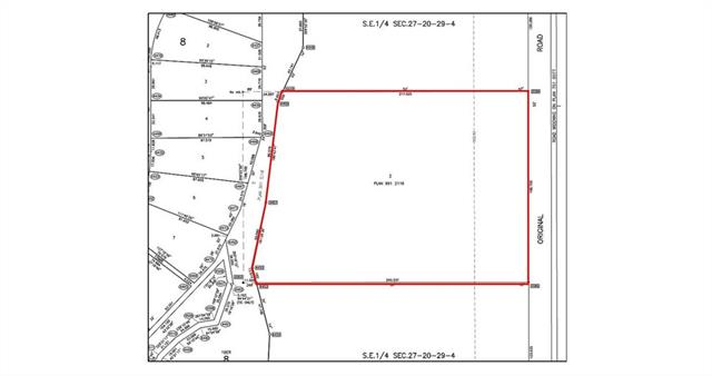 Land developers, home builders or investors - an opportunity to purchase this and up to three other future residential development sites forming the residual lands within the Green Haven Estates residential community! The parcels border the Okotoks town limits to the north, west and south and are located on the west side of 48 Street E and north of 370 Avenue E in Foothills County. The land has good residential location with excellent access to nearby retail, school and recreational amenities of Okotoks. The total opportunity could include four properties but are sold separately. A total of 81.59 acres could be yours to develop if purchased with C4299168, C4299309, C4299300.