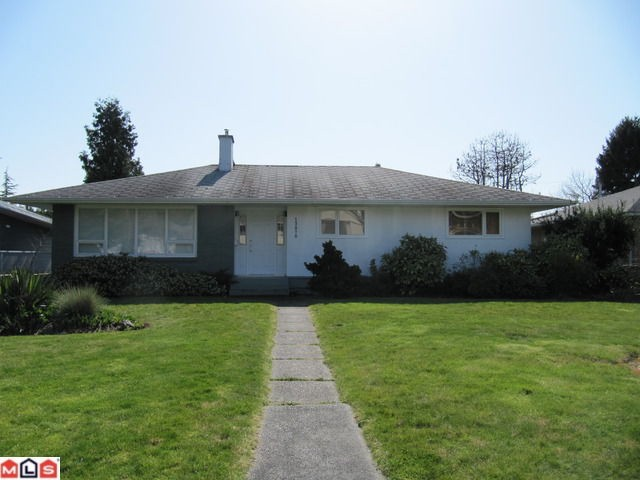 Great location - West White Rock. S/W backyard with lane access. Three bedroom home with basement. Upgrades done in 1987. All new windows, new carpets and blinds in Living room. Second floor would have ocean view.