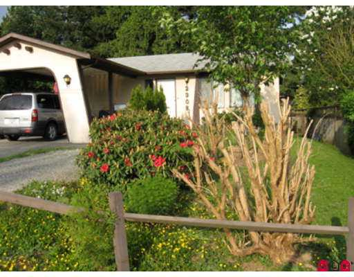 Beautiful 2BR Bungalow w/carport, on quiet street minutes from freeway access, h ospital, schools (K-12 & UCFV), w/large fenced and landscaped yard 2 sheds and c overed deck. Main level features laundry, large country style kitchen andoriginal refinished claw foot tub, and wheelchair accessible doors. New neutral paint, and flooring throughout. Basement has 2nd bathroom recently redone, and has possibilities of more bedrooms, with separate entrance to backyard. Newer appliances, H /W tank and roof.