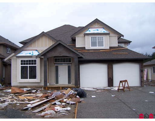 Brand new 5 bedroom + den home in area of new homes. Large master bedroom with covered deck, and jacuzzi tub in ensuite. 2 fireplaces, 9 foot ceilings, dream kitchen with maple cabinets.