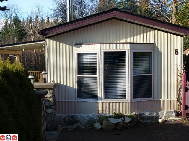 A home that needs to be seen! This spotless, clean mobile measures 14'x60' and has had recent major renovations and yes... you own the land! What more could you ask for? This 2 bedroom home offers new asphalt roof and eaves, new skirting, n ew laminate flooring, new bathroom fixtures and new deck. The interior of this home is in excellent condition as well as the exterior! For your fussy buyers! $30/mth strata fee. Close to the local ski hill and Harrison Hot Springs. A great purchase for your retirement or as a starter home!