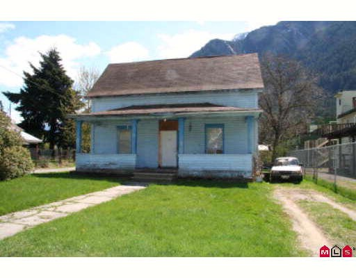 Downtown Hope, character home. Currently rented. CBD downtown commercial zoning. Ideal for home based business, front visibility. Restore or hold for future building, adjoining property also for sale.
