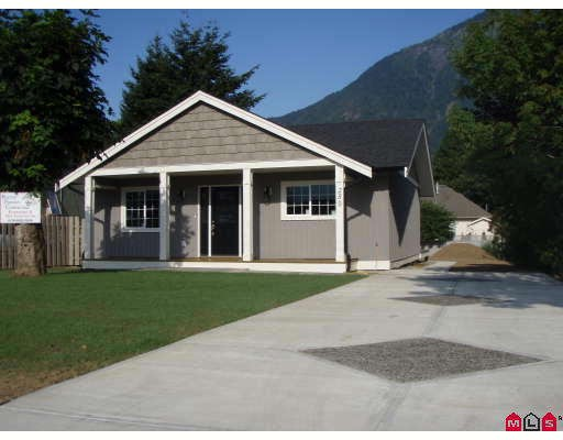New construction home with 450 sq/ft shop. Wheelchair accessible home with open layout, very nicely done. Part basement with extra bedroom, sundeck off of the kitchen and master bedroom to take in the mountain views. Garage / workshopfrom rear lane plus side parking for your RV. Great location, fishing nearby.