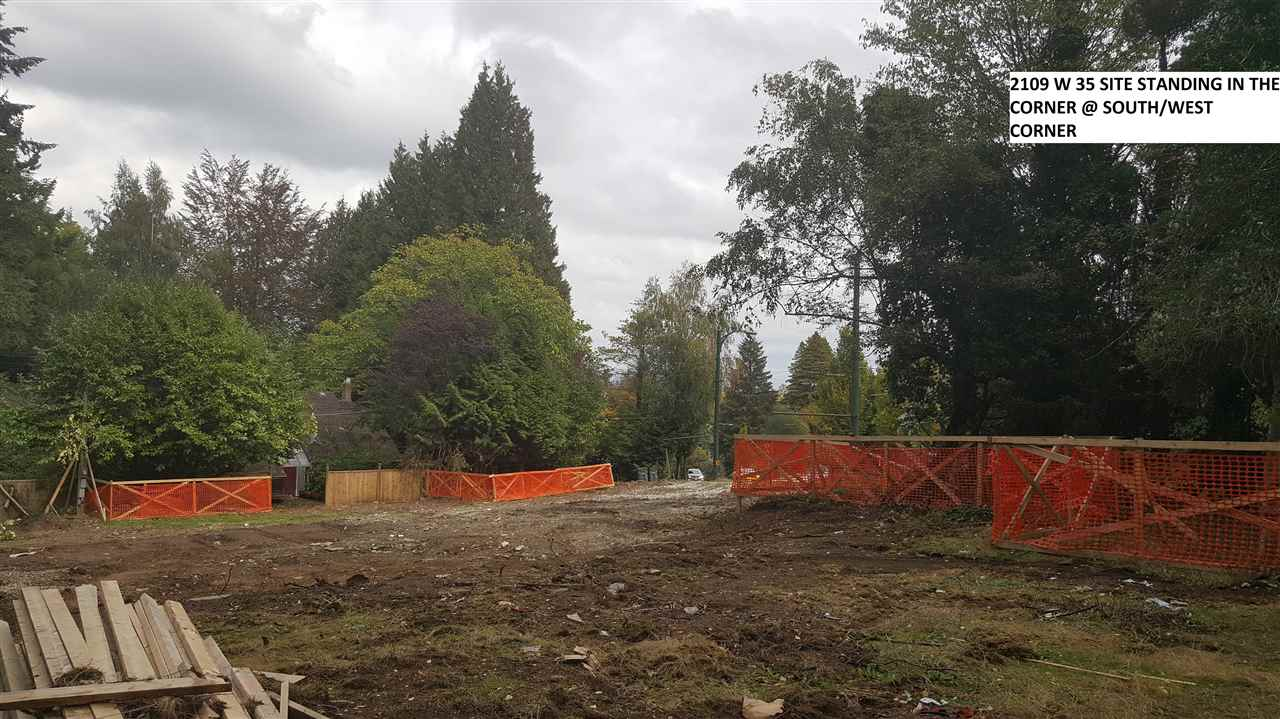 DEVELOPMENT POTENTIAL, LAND ONLY. HOUSE IS DEMOLISHED. LARGE CORNER LOT OVER 12,439 SQ FT IN MOST PRESTIGIOUS QUICHENA LOACATION, ATEPS AWAY FROM PT GREY SECONDARY SCHOOL, QUICHENA ELEM. CLOSE TO YORK HOUSE, ST GEORGES & CROFTON PRIVATE SCHOOL, UBC, SHOPPING AND TRANSIT. SELLER IS A LICENSED REALTOR. LOT VALUE ONLY.