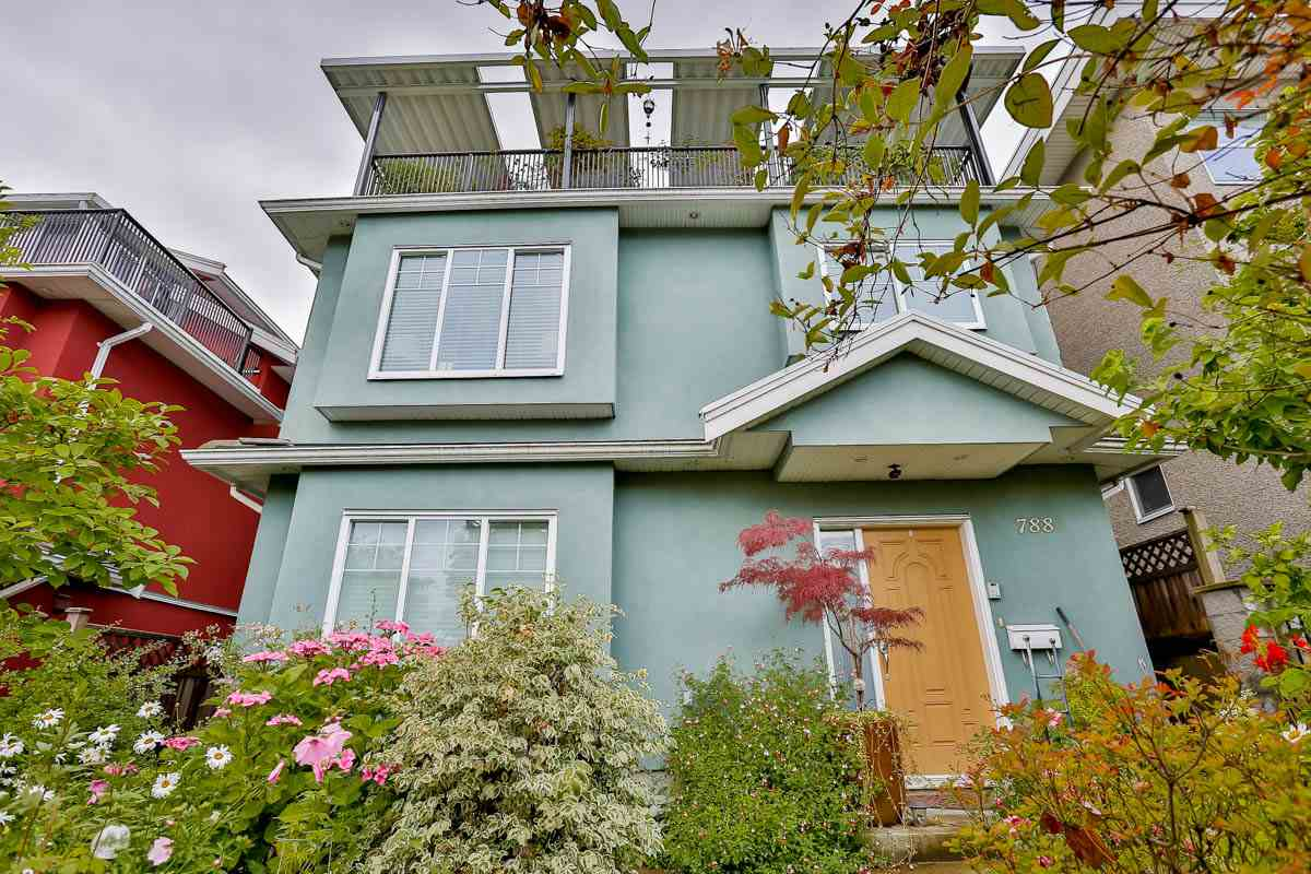 This almost BRAND NEW residence located just steps to Memorial South Park & mins to shopping, restaurants, schools & transit. This spacious 3 level 1933 sf home includes a master suite on the top level with sundeck boasting views of the North Shore mountains, large living room with cozy gas fireplace & bright kitchen with maple cabinets & granite countertops, plus 2 bedrooms & full bath on the main level.Also  2 full separate accomodations below both with seperate entrances !! This lovely home also comes with heat-recovery ventilation system, low-energy water tank, security system, double garage and the remainder of 2-5-10 warranty !! HURRY ON THIS ONE - A REAL MONEY MAKER !!