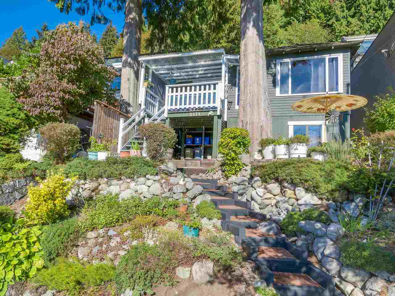 SPECTACULAR OCEAN VIEWS! Own your piece of paradise in desirable Deep Cove. Neat as a pin home on sunny Panorama Drive. Watch the boats and paddlers right from your own sunny deck. Stroll to the beach for swim or a paddle, steps to the village shops and bistros, and enjoy natures forest trails at your back door. A quick oceanside walk to Cove Cliff Elementary and Seycove Secondary. Minutes to Seymour Mtn Ski Hill and easy access to downtown. Lots of opportunity here to live in or plan your ocean view dream home. Don't miss this one! Phone LR to book your private viewing.